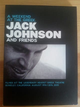 A weekend at the Greek/Live in Japan. Jack Johnson