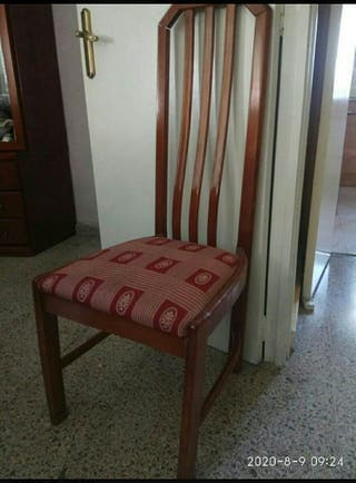 6 sillas salón