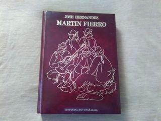 Libro Martín Fierro de José Hernández