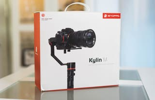 Gimbal estabilizador para cámaras profesional