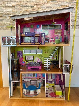 Casa de muñecas madera Kidkraft