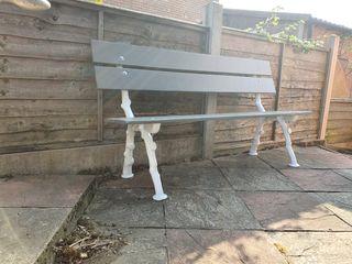 coalbrookedale style cast iron garden bench