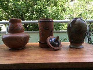 Jarrones ceramica artesanal / Gerros artesania