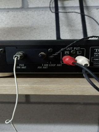 sintonizador estéreo