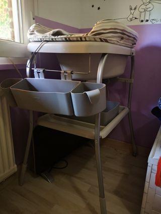 Bañera cambiador chicco bebé URGE