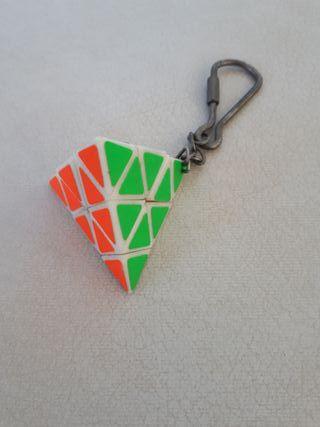 Llavero Pirámide Rubik
