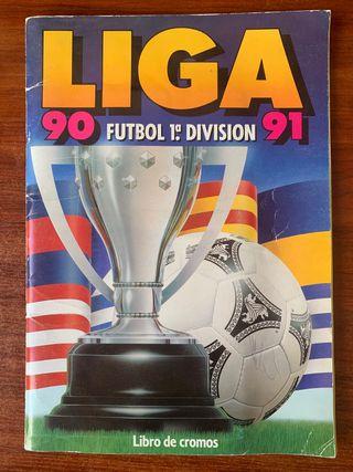 Álbum Liga 90-91