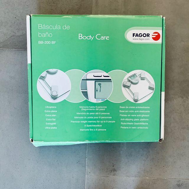 Báscula de baño Fagor (BB-200 BF)