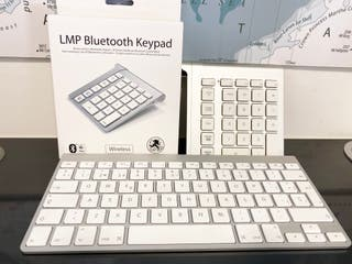 Teclado Imac + LMP Bluetooth Keypad