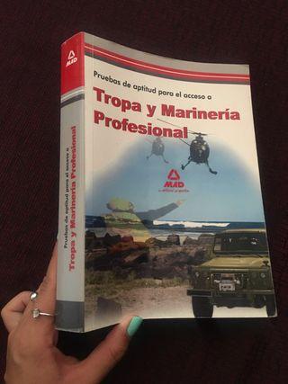 Libro acceso ejército