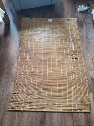 Persianas bambú del IKEA