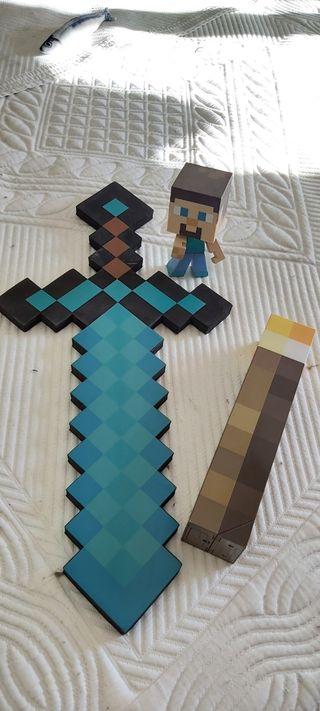 Varios artículos Minecraft
