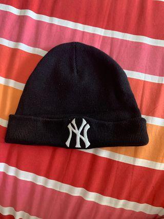 Gorro lana negro NY yankees