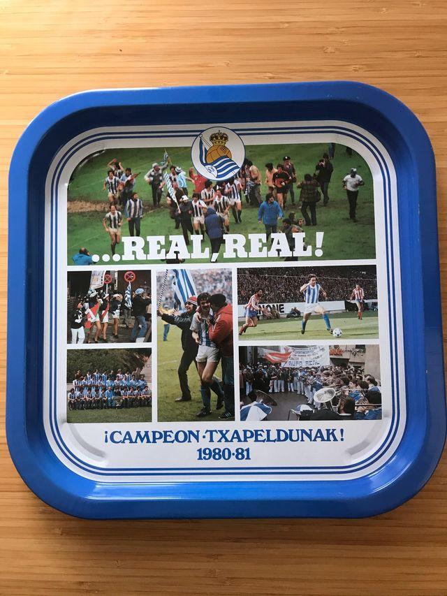 Bandeja Conmemorativa Real Sociedad