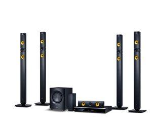 Sistema sonido home cinema LG con Blue-Ray nuevo
