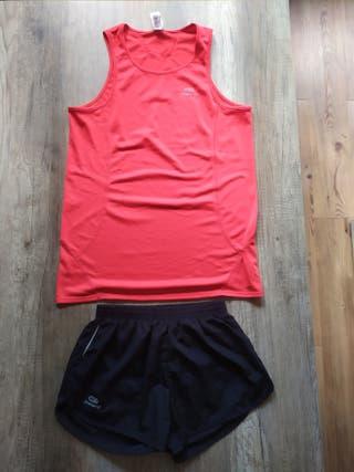 Equipo running chico (pantalon + camiseta)