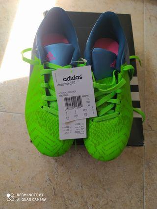 Botas de fútbol sin estrenar adidas