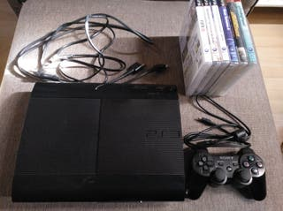 PS3 superslim 500 gigas