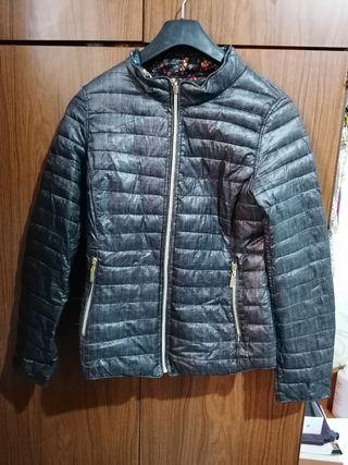 chaqueta pluma delgada