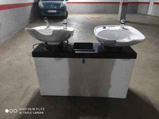 lavacabezas profesional doble