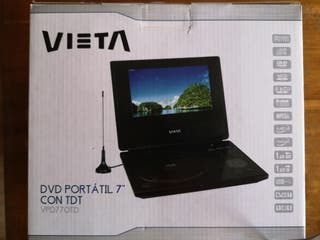 Reproductor DVD y TDT portátil marca Vieta