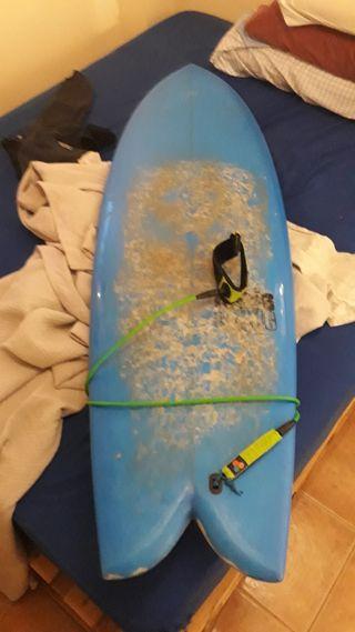 Tabla de Surf Retro Fish Future Fins