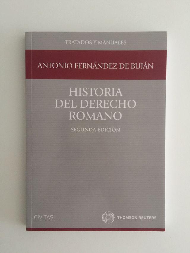 Historia del Derecho Romano, de Antonio Fdez.