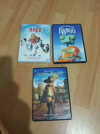 lote DVDs