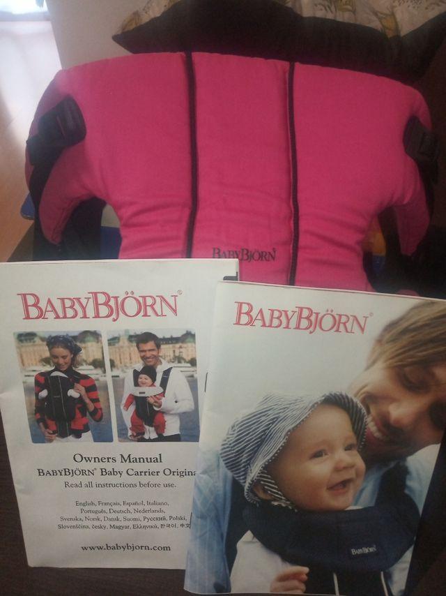mochila porta-bebe babybjorn