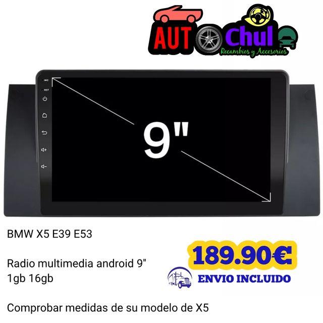 Radio android 9 bmw X5 e39 e53