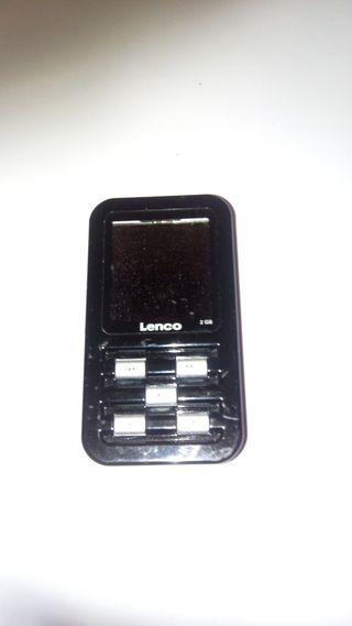 LENCO XEMIO 2GB MP3 GRABADOR VOZ RADIO