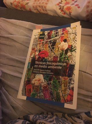 Libro UNED Técnicas Fisico quimicas medio ambiente