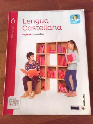 Lengua Castellana, segundo trimestre - 6o Primaria