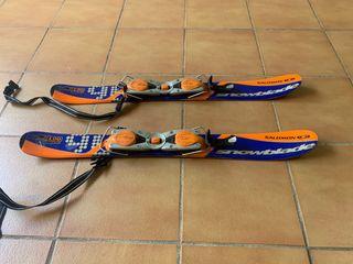 Esquíes Freestyle