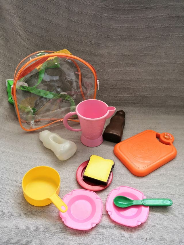 Trona juguete y complementos