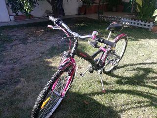Vendo bicicleta niña de 8 a 12 años decathlon