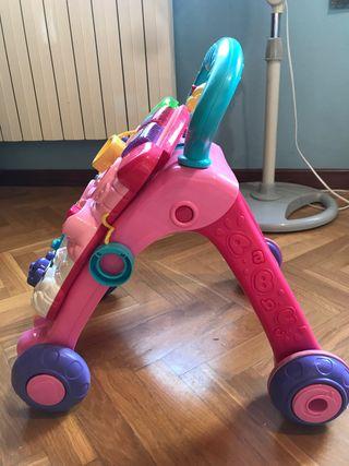 Correpasillos andador rosa Vtech