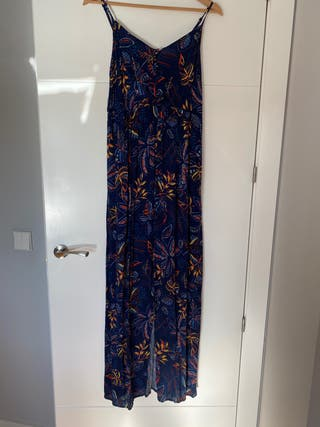 Vestido largo tirantes Promod Talla S