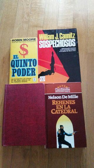 Libros de novela policíaca