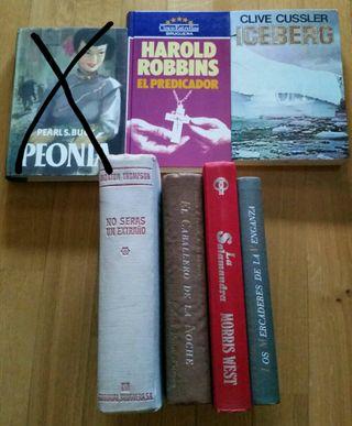 Libros. Novelas