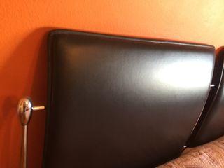 Cabecero cama 150cm moderno de piel