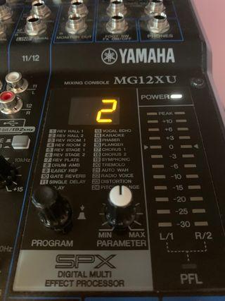 Mesa Yamaha MG12 XU