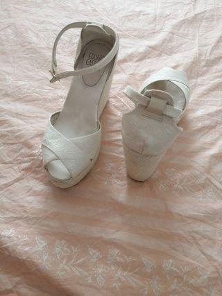 zapatos banco de novias