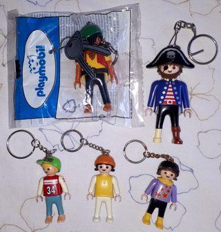 Playmobil llavero colección