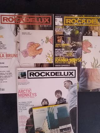 REVISTA ROCKDELUX ROCK DE LUX. Con CD. 2005-2007
