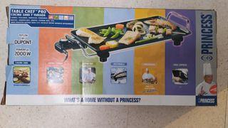 Princess 102300 Table Chef Pro Plancha de alta c