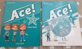 LIBRO DE INGLES ACE 5 CLASS BOOK