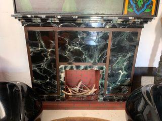 Mueble Bar Chimenea Vintage