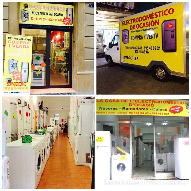 Microondas lavadora y frigorífico NUEVOS