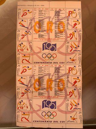 Sellos Olimpiadas del 1994